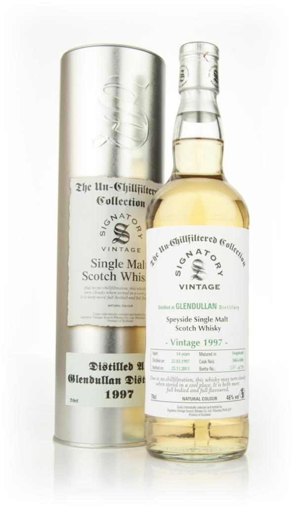 Glendullan 14 Year Old 1997 - Un-Chillfiltered (Signatory) Single Malt Whisky