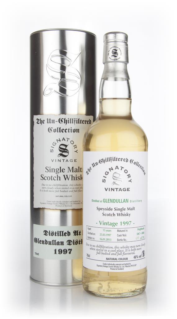 Glendullan 15 Year Old 1997 - Un-Chillfiltered (Signatory) Single Malt Whisky
