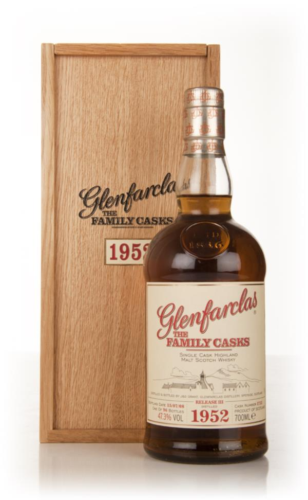 Glenfarclas 1952 Family Cask Release III Single Malt Whisky
