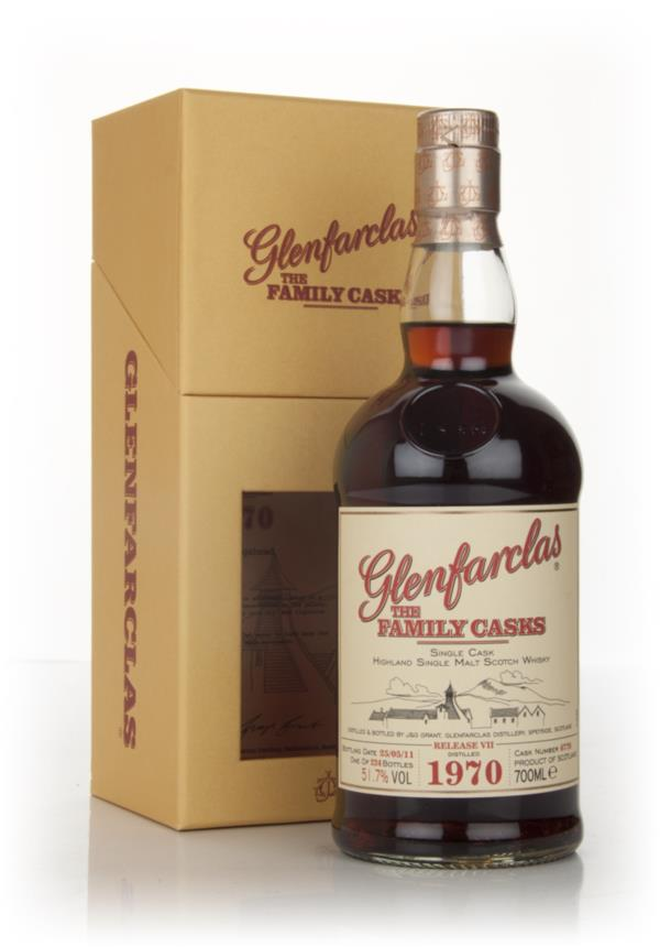 Glenfarclas 1970 Family Cask Release VII Single Malt Whisky