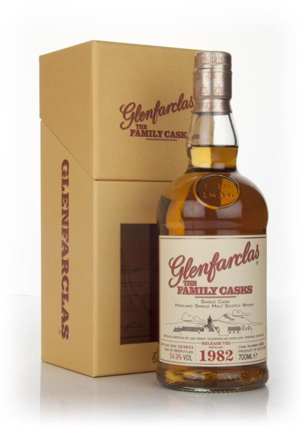 Glenfarclas 1982 Family Cask Release VIII Single Malt Whisky
