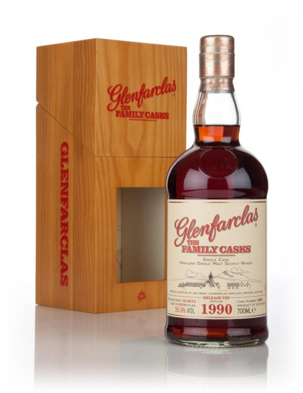 Glenfarclas 1990 Family Cask Release VIII Single Malt Whisky