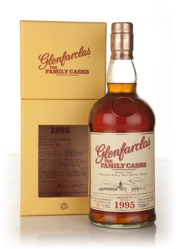 Glenfarclas 1995 Family Cask Release VI Single Malt Whisky
