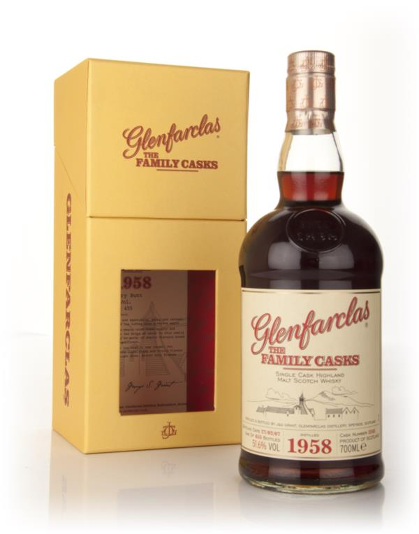 Glenfarclas 1958 Family Cask Single Malt Whisky