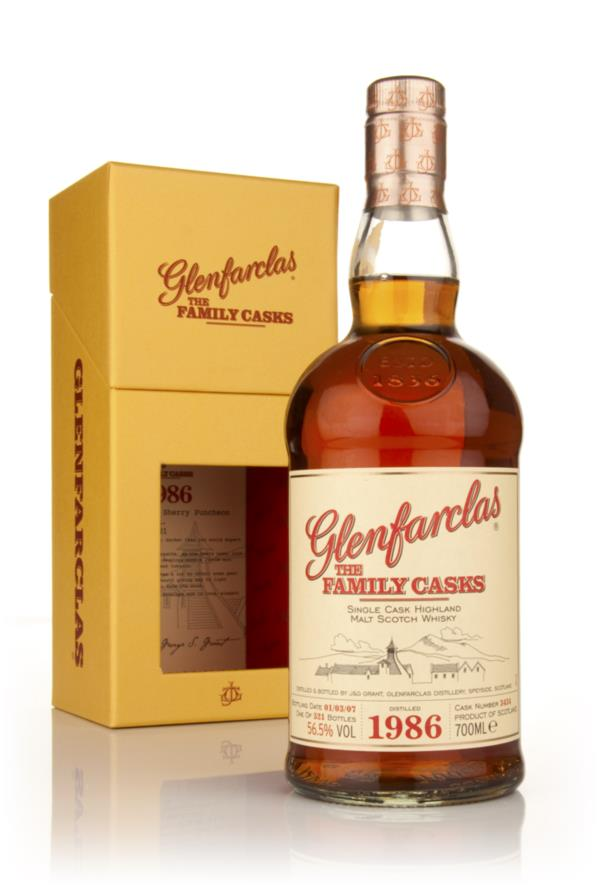 Glenfarclas 1986 Family Cask Single Malt Whisky