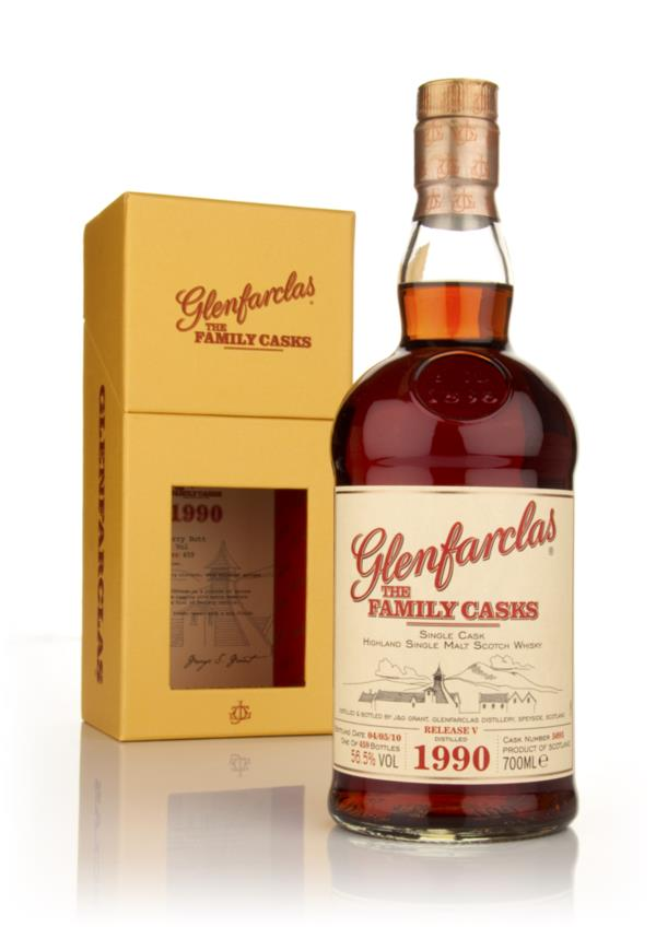 Glenfarclas 1990 Family Cask Release V Single Malt Whisky