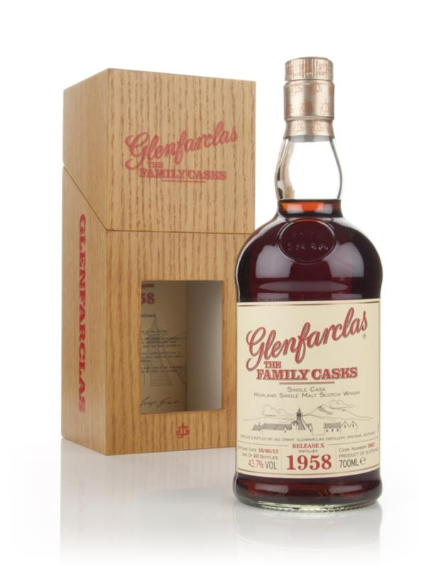 Glenfarclas 1958 Family Cask Release X Single Malt Whisky