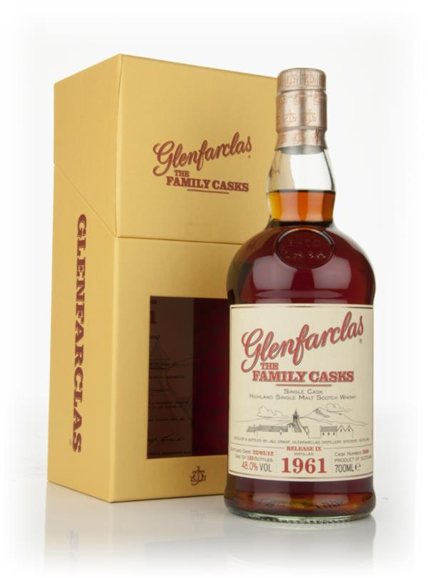Glenfarclas 1961 Family Cask Release IX Single Malt Whisky