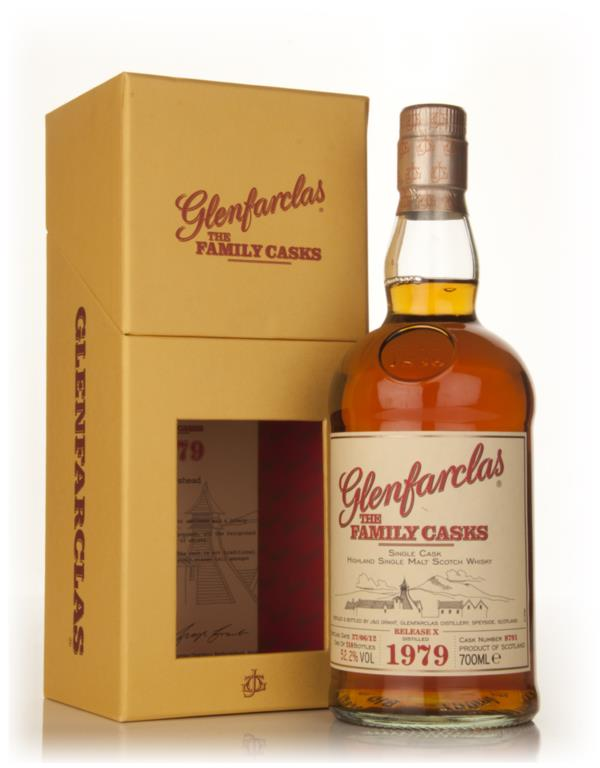 Glenfarclas 1979 Family Cask Release X (cask 8791) Single Malt Whisky