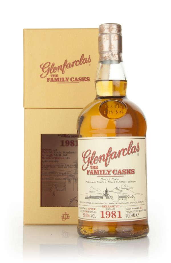 Glenfarclas 1981 Family Cask Release VII Single Malt Whisky