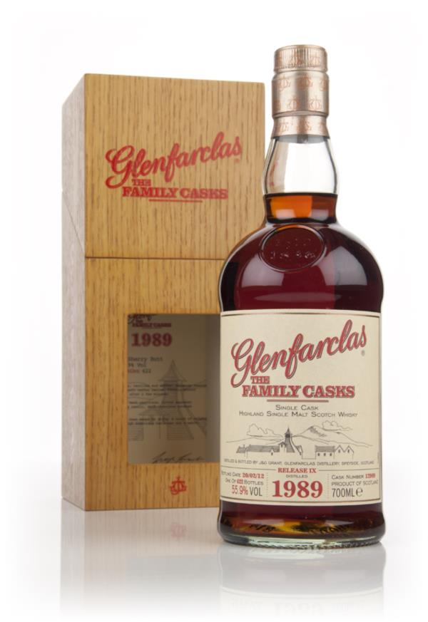 Glenfarclas 1989 Family Cask Release IX Single Malt Whisky