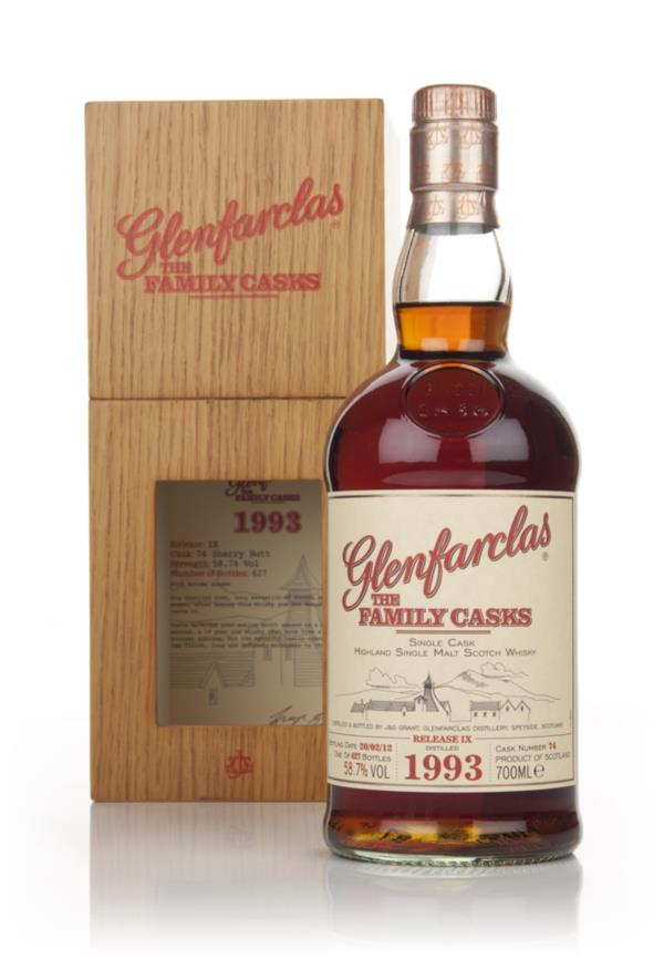 Glenfarclas 1993 Family Cask Release IX Single Malt Whisky