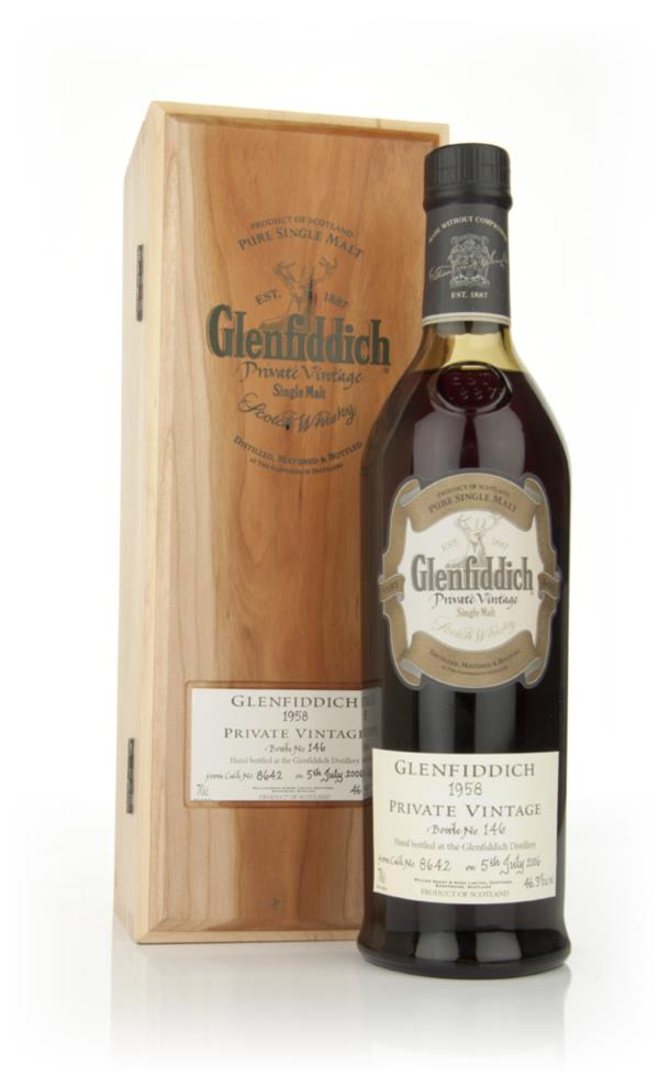Glenfiddich 1958 Private Vintage Single Malt Whisky