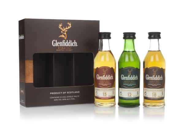 Glenfiddich Triple Pack (3 x 50ml) Single Malt Whisky