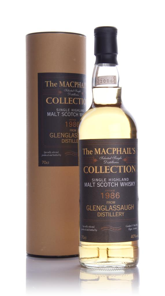 Glenglassaugh 1986 - The MacPhails Collection (Gordon and MacPhail) Single Malt Whisky