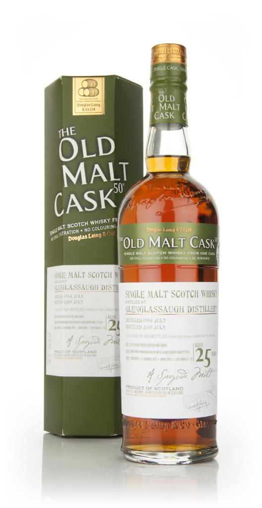 Glenglassaugh 25 Year Old 1984 - Old Malt Cask (Douglas Laing) Single Malt Whisky