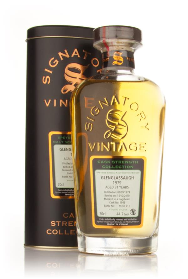 Glenglassaugh 31 Year Old 1979 - Cask Strength Collection (Signatory) Single Malt Whisky