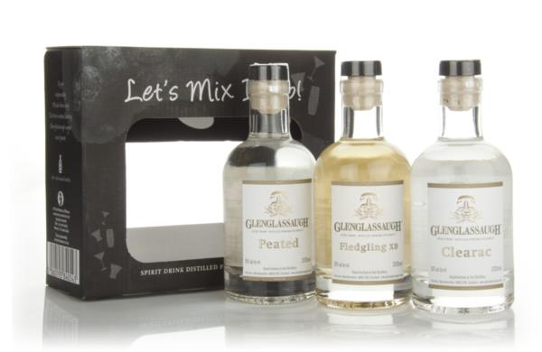 Glenglassaugh The Spirit Drink Set Malt Spirit and New Make Whisky
