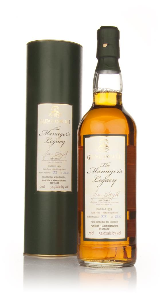 Glenglassaugh 1974 Managers Legacy Jim Cryle Single Malt Whisky