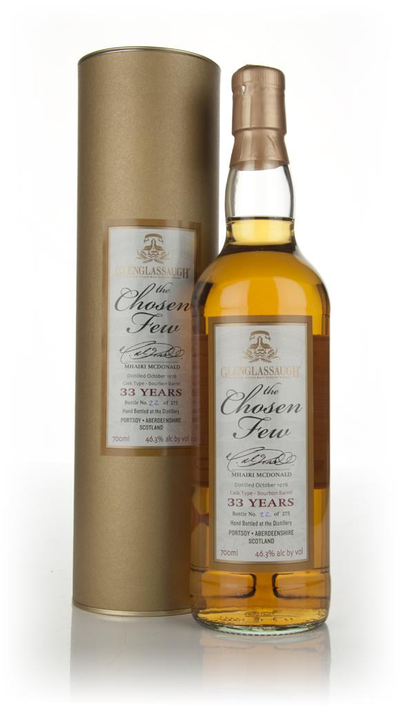 Glenglassaugh 33 Year Old 1978 -  The Chosen Few Single Malt Whisky