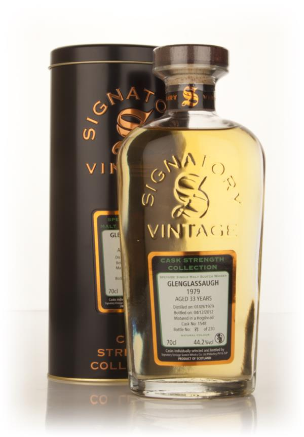 Glenglassaugh 33 Year Old 1979 (cask 1548) - Cask Strength Collection Single Malt Whisky