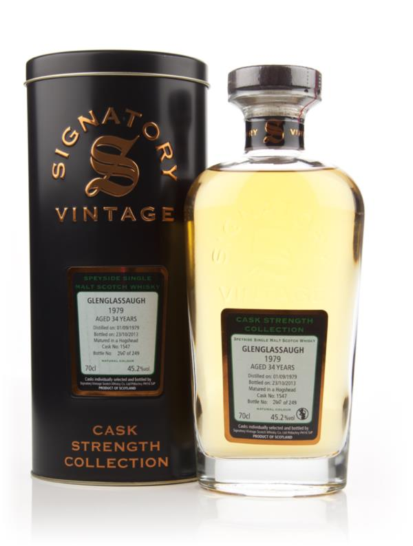 Glenglassaugh 34 Year Old 1979 (cask 1547) - Cask Strength Collection Single Malt Whisky