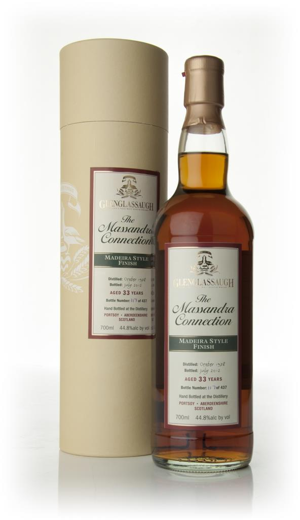 Glenglassaugh 33 Year Old 1978 - Madeira Style Wine Cask Finish Single Malt Whisky