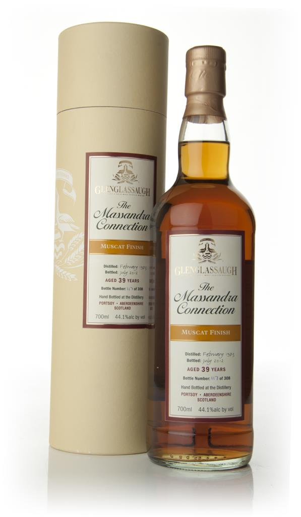 Glenglassaugh 39 Year Old 1973 - The Massandra Connection - Muscat Win Single Malt Whisky