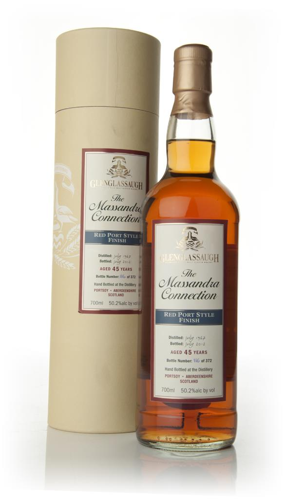 Glenglassaugh 45 Year Old 1967 - Red Port Finish Single Malt Whisky