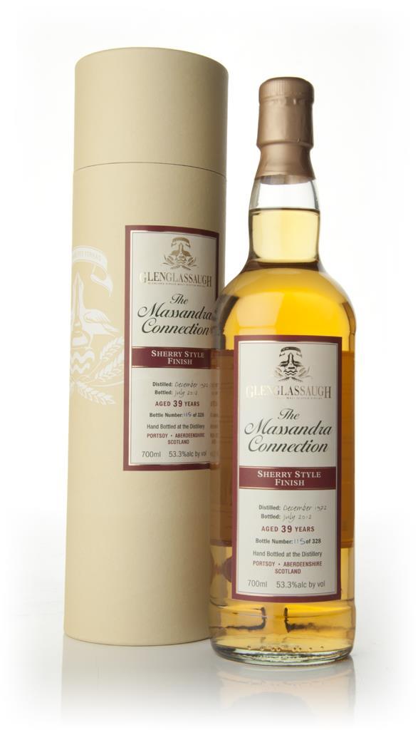 Glenglassaugh 39 Year Old 1972 - Sherry Cask Finish Single Malt Whisky