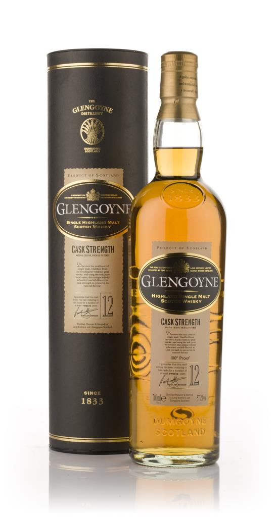 Glengoyne 12 Year Old Cask Strength Single Malt Whisky