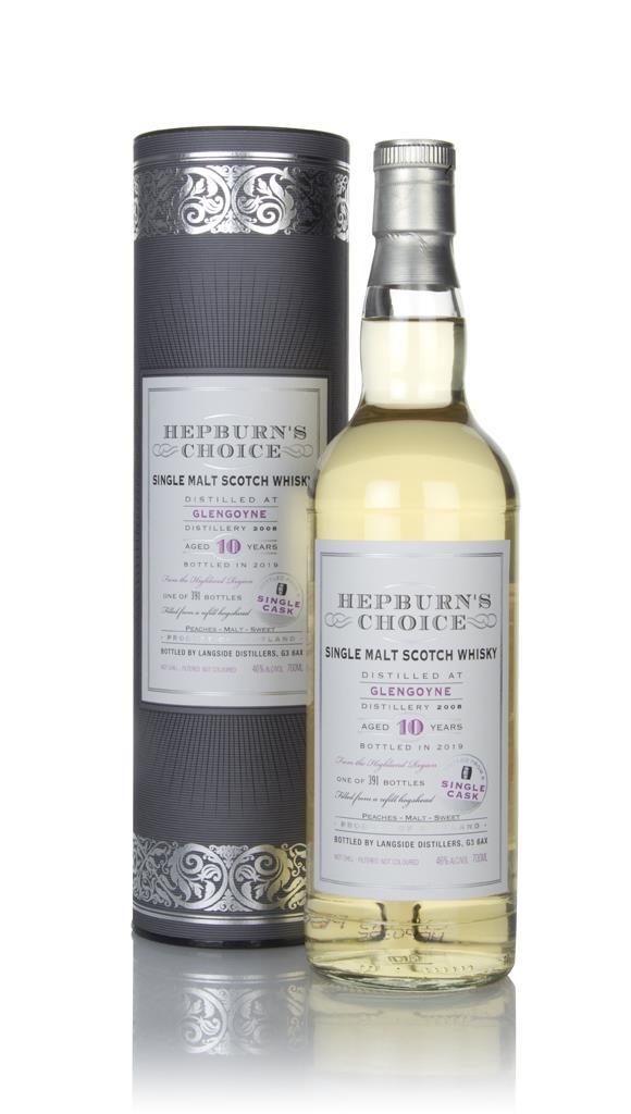 Glengoyne 10 Year Old 2008 - Hepburn's Choice (Langside) Single Malt Whisky