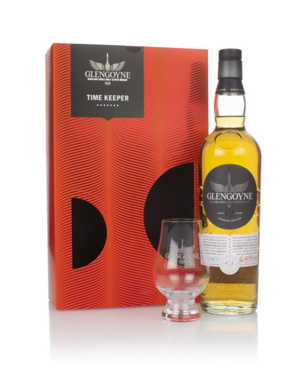Glengoyne 12 Year Old Time Keeper Gift Pack with Glass Single Malt Whisky