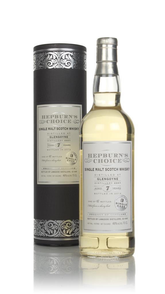 Glengoyne 7 Year Old 2007 (bottled 2014) - Hepburn's Choice (Langside) Single Malt Whisky