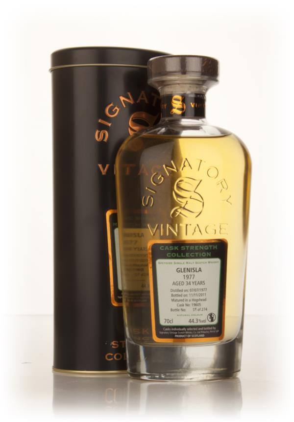 Glenisla 34 Year Old 1977 (cask 19605) - Cask Strength Collection (Sig Single Malt Whisky