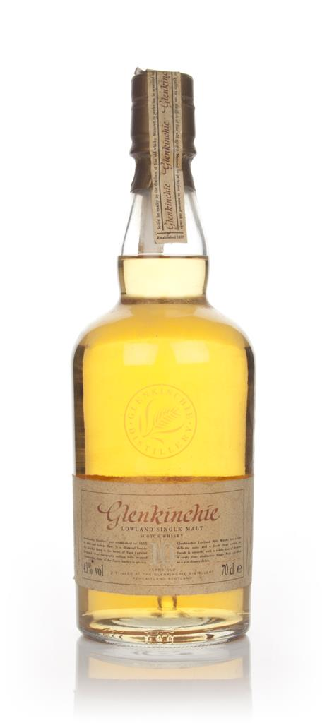 Glenkinchie 10 Year Old Lowland Single Malt Whisky - 1980s Single Malt Whisky