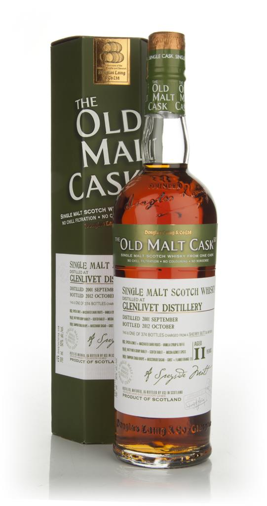 Glenlivet 11 Years Old 2001 - Old Malt Cask (Douglas Laing) Single Malt Whisky