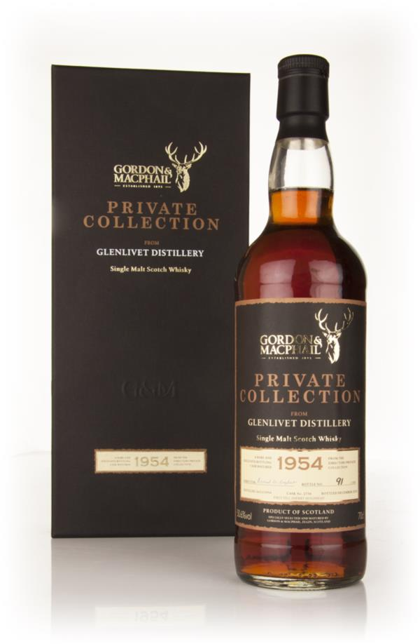 Glenlivet 1954 - Private Collection (Gordon and MacPhail) Single Malt Whisky