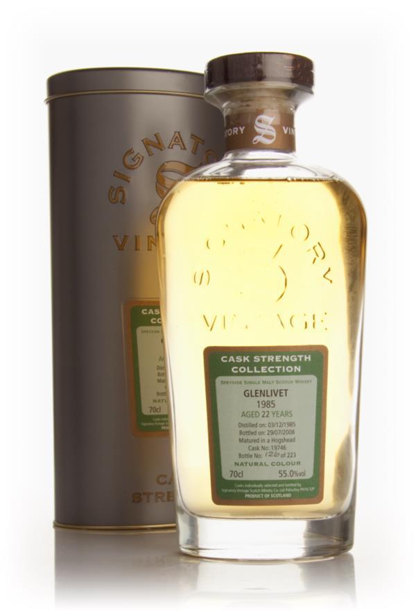 Glenlivet 22 Year Old 1985 - Cask Strength Collection (Signatory) Single Malt Whisky