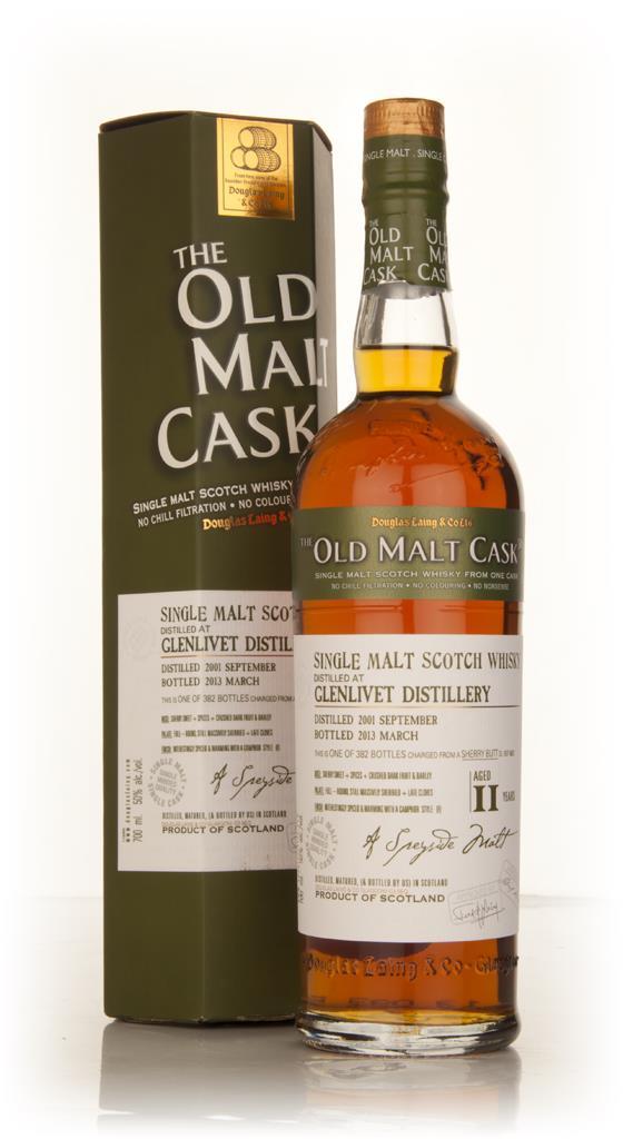 Glenlivet 11 Year Old 2001 (cask 9637) - Old Malt Cask (Douglas Laing) Single Malt Whisky