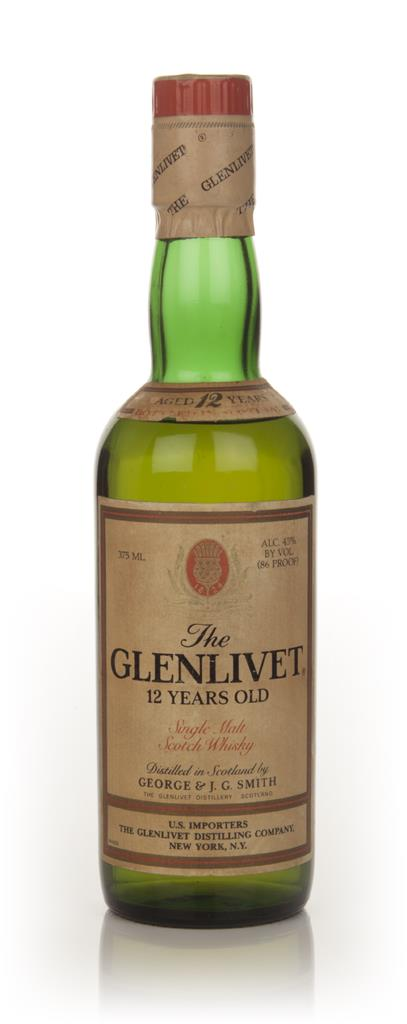 Glenlivet 12 Year Old - 1970s Single Malt Whisky