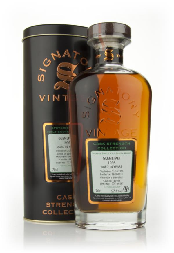 Glenlivet 14 Year Old 1996 - Cask Strength Collection (Signatory) Single Malt Whisky