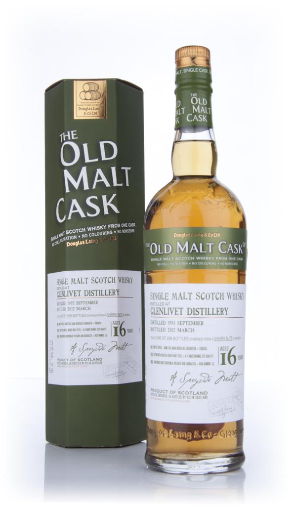 Glenlivet 16 Year Old 1995 - Old Malt Cask (Douglas Laing) Single Malt Whisky