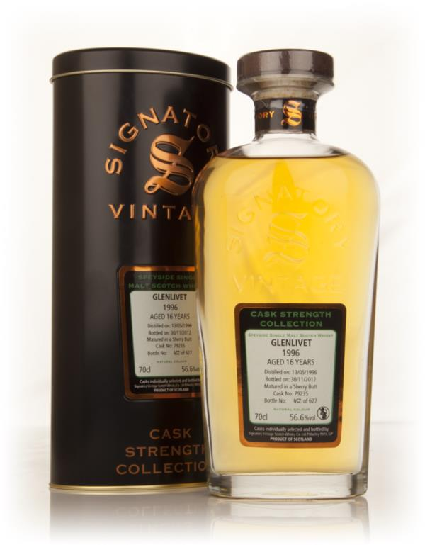 Glenlivet 16 Year Old 1996 (cask 79235) - Cask Strength Collection (Si Single Malt Whisky