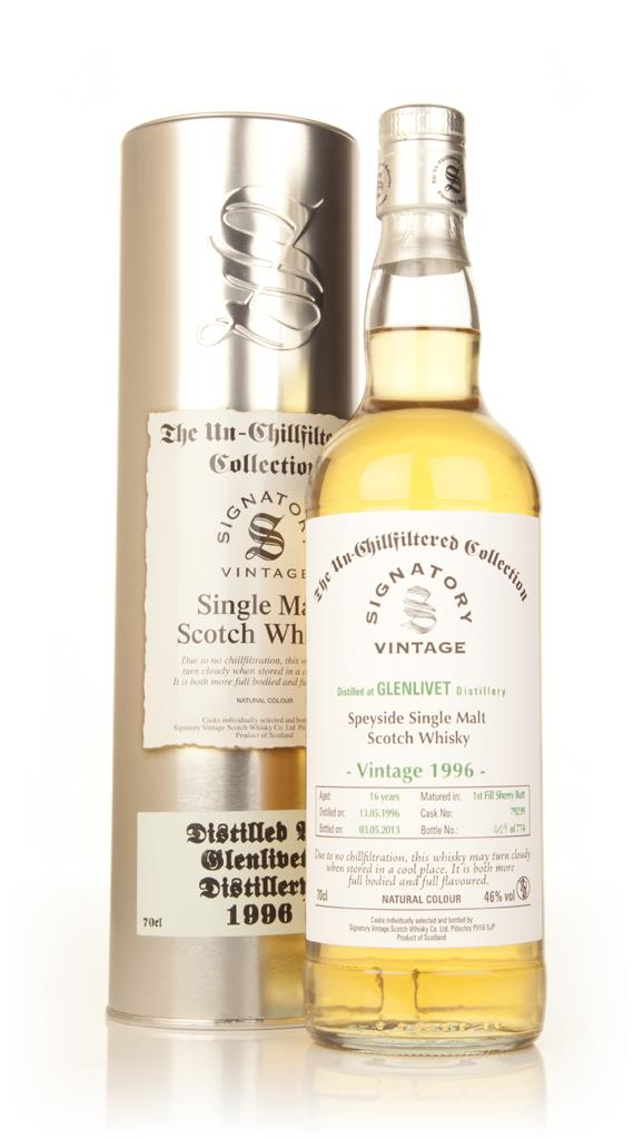 Glenlivet 16 Year Old 1996 (cask 79239) - Un-Chillfiltered Collection Single Malt Whisky