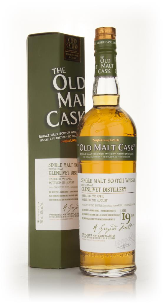 Glenlivet 19 Year Old 1992 - Old Malt Cask (Douglas Laing) Single Malt Whisky