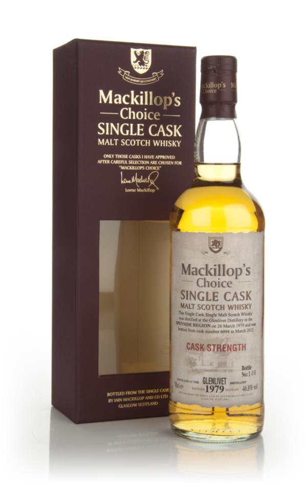 Glenlivet 1979 (cask 6094) - Mackillop's Choice (bottled 2012) Single Malt Whisky