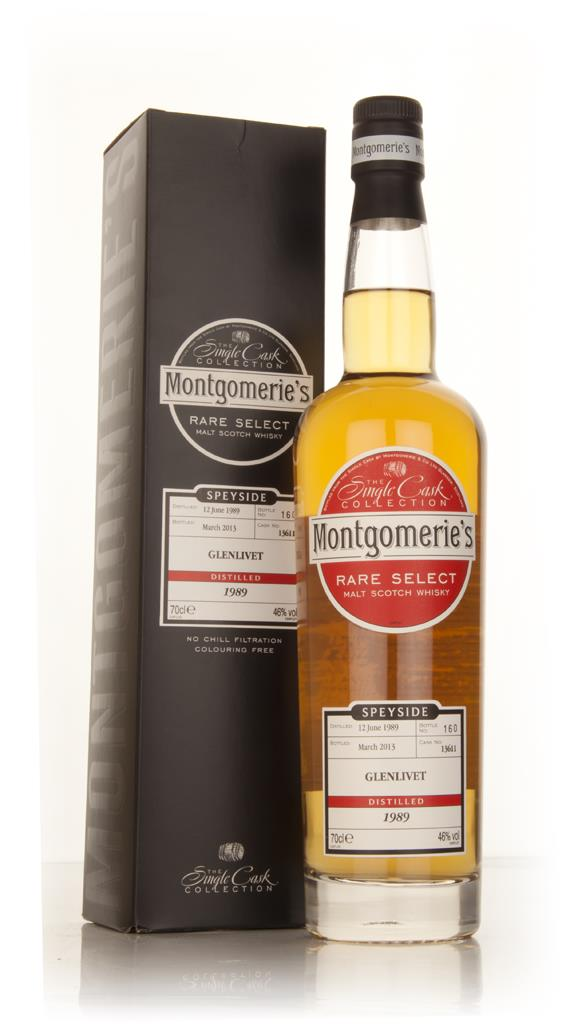 Glenlivet 23 Year Old 1989 (cask 13611) - Rare Select (Montgomeries) Single Malt Whisky