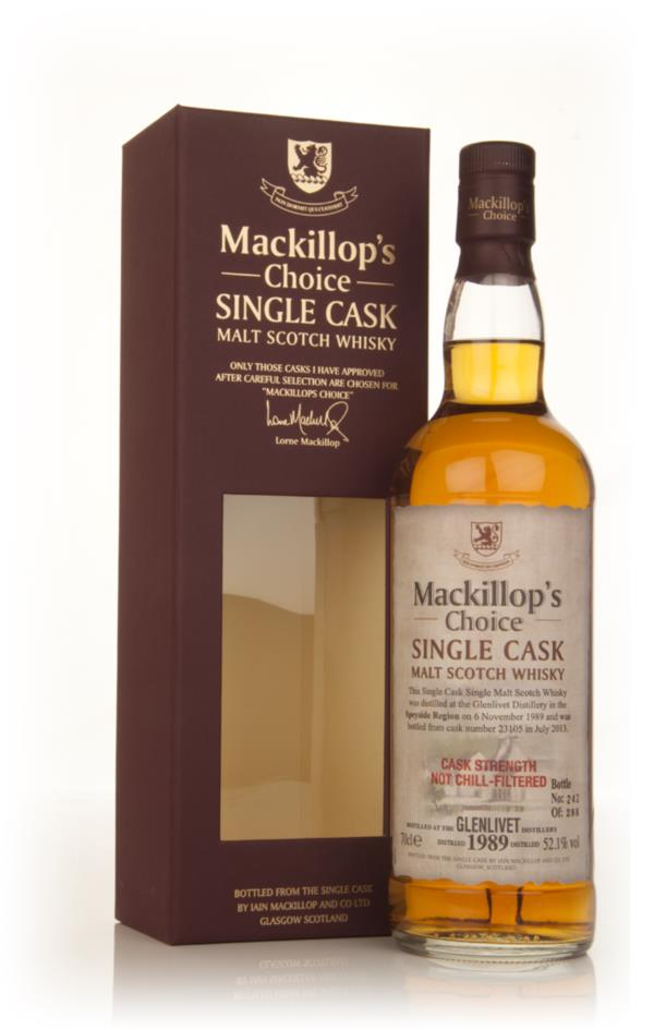 Glenlivet 23 Year Old 1989 (cask 23105) - Mackillop's Choice Single Malt Whisky