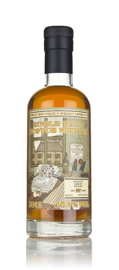 Glenlivet 27 Year Old (That Boutique-y Whisky Company) 3cl Sample Single Malt Whisky